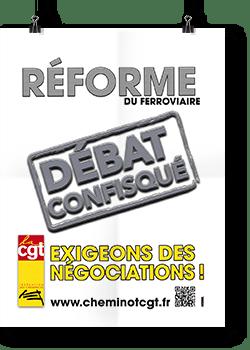 Négociations réforme du ferroviaire