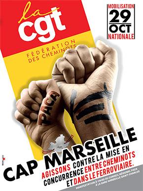 Cap Marseille le 29 octobre 2021