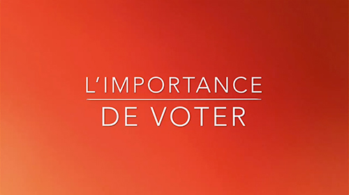 Limportance du vote