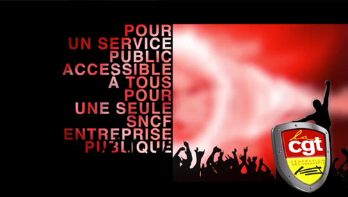 Clip de Campagne CGT SNCF