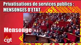Services Publics : Mensonges d'ETAT !