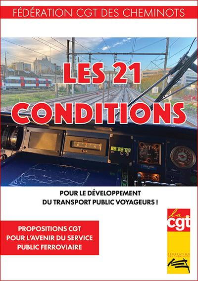 LES 21 CONDITIONS POUR LE DÉVELOPPEMENT DU TRANSPORT PUBLIC VOYAGEURS