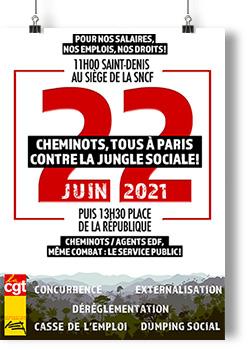 Mobilisation du 22 juin 2021